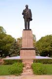 La estatua de Lenin Fotografía de archivo libre de regalías