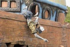 La estatua de los marineros Imagenes de archivo