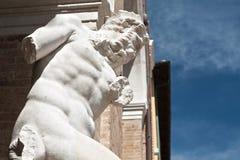 La estatua de Neptuno Fotografía de archivo libre de regalías