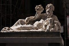 La estatua de Nile God fotografía de archivo