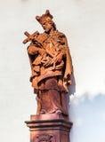 La estatua de San Juan hizo imágenes de archivo libres de regalías