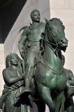La estatua de Thomas Jefferson foto de archivo