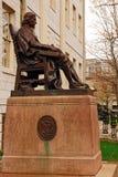 La estatua de tres mentiras en Universidad de Harvard Imágenes de archivo libres de regalías