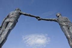 La estatua del pedazo Foto de archivo