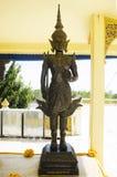 La estatua del thirat del thewa de Phra Tailandia para la gente y la visita y ruegan Foto de archivo libre de regalías