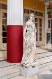 La estatua en el museo Fotografía de archivo libre de regalías