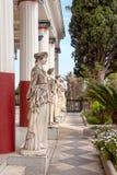 La estatua en el museo Fotos de archivo libres de regalías