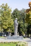 La estatua en la abadía del sergei de Sam, Federación Rusa Foto de archivo libre de regalías