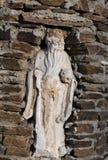 La estatua internacional él empareda el lugar Imagen de archivo libre de regalías