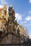 La estatua Karlovy varía fotos de archivo libres de regalías