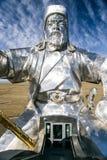 La estatua más grande del mundo de Genghis Khan Imágenes de archivo libres de regalías