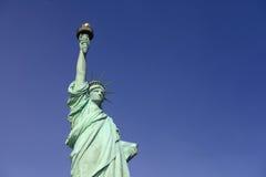 La estatua NY de la libertad Imágenes de archivo libres de regalías