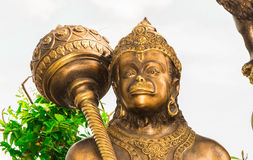 La estatua se hace del metal Fotos de archivo