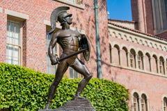 La estatua y el Bovard troyanos famosos Aministration imagenes de archivo