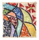 La estera de lanas felted Imagenes de archivo