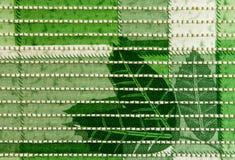 La estera plástica tejida es bajo costo a funcionando producida, versátil Imagen de archivo
