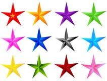 La estrella 02 Foto de archivo libre de regalías