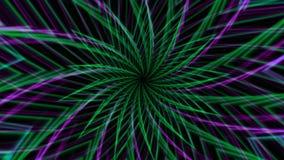La estrella abstracta del fondo forma el movimiento almacen de metraje de vídeo