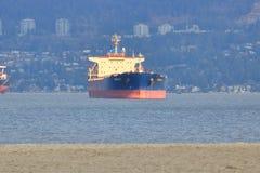 La estrella de Argolis anclada en Vancouver, Canadá Fotos de archivo libres de regalías