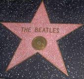 La estrella de Beatles Imágenes de archivo libres de regalías