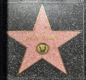 La estrella de Bugs Bunny en el paseo de Hollywood de la fama en Los Ángeles imagenes de archivo