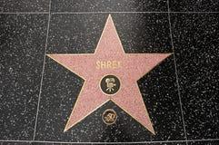 La estrella de Shrek Imágenes de archivo libres de regalías