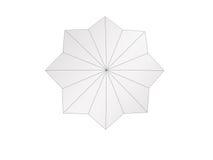 La estrella en fondo aislado blanco Ilustración del Vector