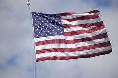 La estrella Spangled la bandera fotografía de archivo