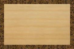 La estructura de la madera ligera y oscura Fotografía de archivo