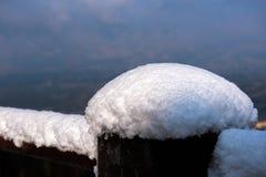 La estructura de la nieve Imagen de archivo libre de regalías