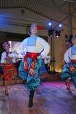 La etapa del ¾ n de Ð es bailarines y cantantes, actores, miembros del estribillo, bailarines de corps de ballet, solistas del co Foto de archivo libre de regalías