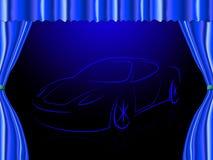 La etapa Sportscar significa a Live Event And Autosport Fotografía de archivo libre de regalías