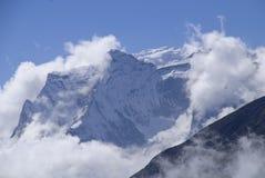 La Everest Himalaya Nepal del Mt Nup Imágenes de archivo libres de regalías