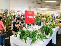 La exhibición floral en Bangkok Imagen de archivo libre de regalías