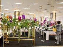 La exhibición floral en Bangkok 2014 Imagenes de archivo