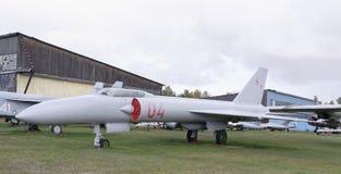 La-250-, experimentell supersonisk militärt jaktplan (1956) Arkivbild