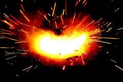 La explosión Foto de archivo libre de regalías