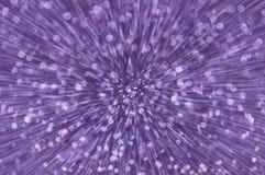 La explosión púrpura del brillo enciende el fondo abstracto Fotos de archivo libres de regalías