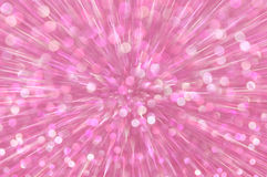 La explosión rosada del brillo enciende el fondo abstracto Imágenes de archivo libres de regalías