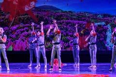 La exposición de enseñanza de clasificación Jiangxi del logro de los niños de la prueba de la academia de la danza de Pekín de lo imágenes de archivo libres de regalías