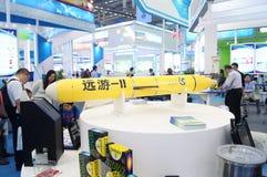 La exposición del modelo de cohete, en la feria de alta tecnología internacional de China Fotografía de archivo libre de regalías