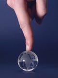 La extremidad del dedo 1 Fotografía de archivo