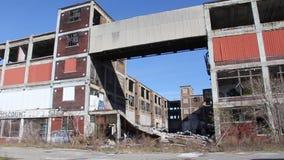 La fábrica de Detroit arruina 9 almacen de metraje de vídeo