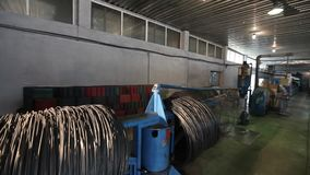 La fábrica de los muebles, producción de muebles salta para los bloques del colchón, máquina para la producción de primaveras metrajes