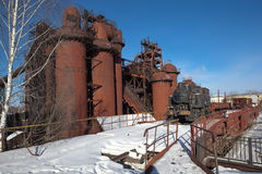 La fábrica de Nizhny Tagil basó la dinastía de Demidov en 1725 Fábrica - museo Región de Sverdlovsk Imágenes de archivo libres de regalías