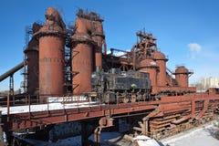 La fábrica de Nizhny Tagil basó la dinastía de Demidov en 1725 Fábrica - museo Región de Sverdlovsk Foto de archivo