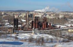 La fábrica de Nizhny Tagil basó la dinastía de Demidov en 1725 Fábrica - museo Región de Sverdlovsk Rusia Imagen de archivo libre de regalías