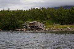 La fábrica vieja 2 de la pesca Imagen de archivo