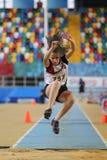 La fédération sportive turque matraque le championnat d'intérieur Images stock
