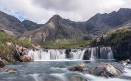 La fée met l'île en commun de Skye Images libres de droits